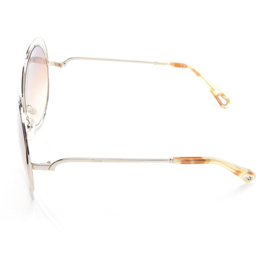 Sonnenbrille von Chloé in Silber - Carlina