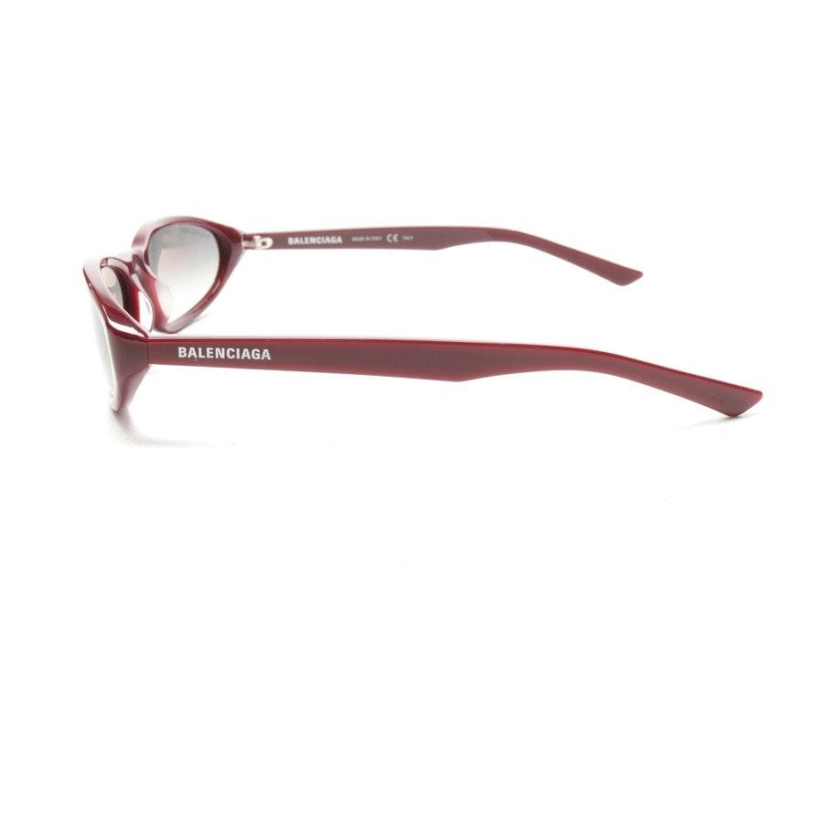 Sonnenbrille von Balenciaga in Weinrot - Neu - BB0007S