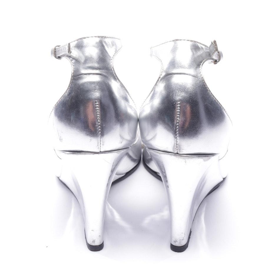 Pumps von Gucci in Silber Gr. EUR 38