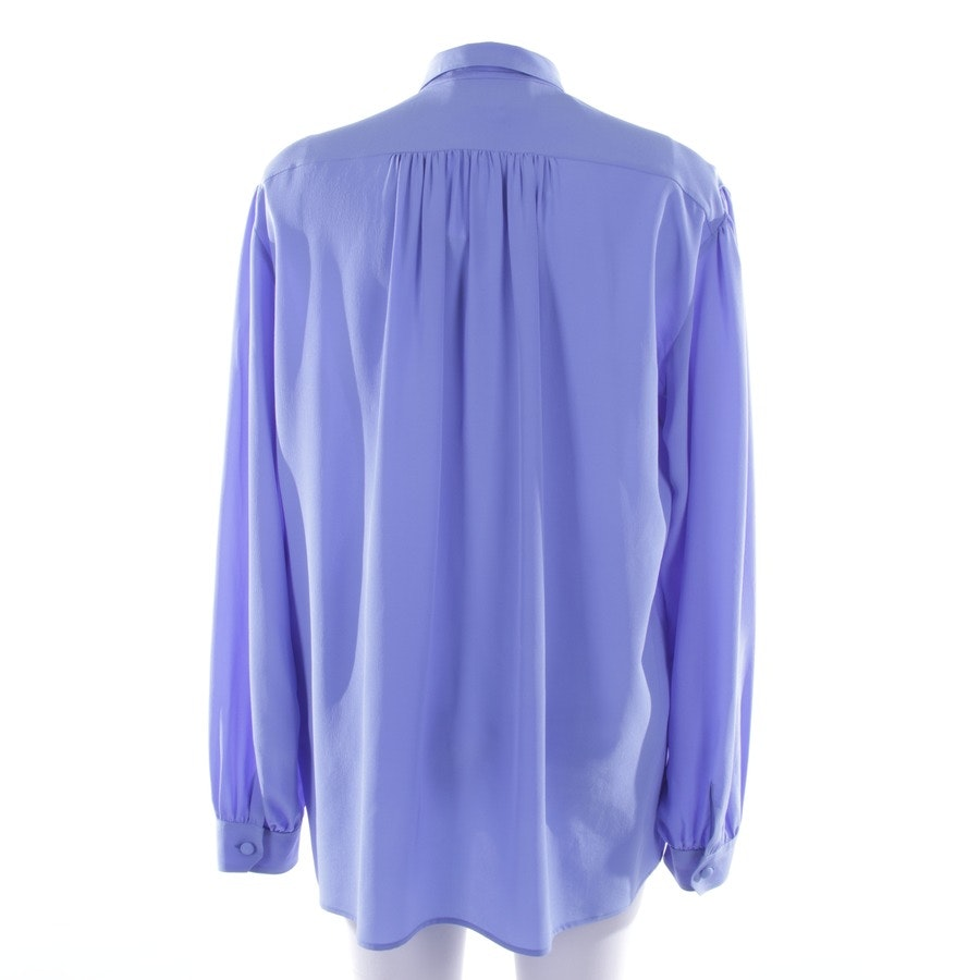 Seidenbluse von Gucci in Himmelblau Gr. 40 IT 46