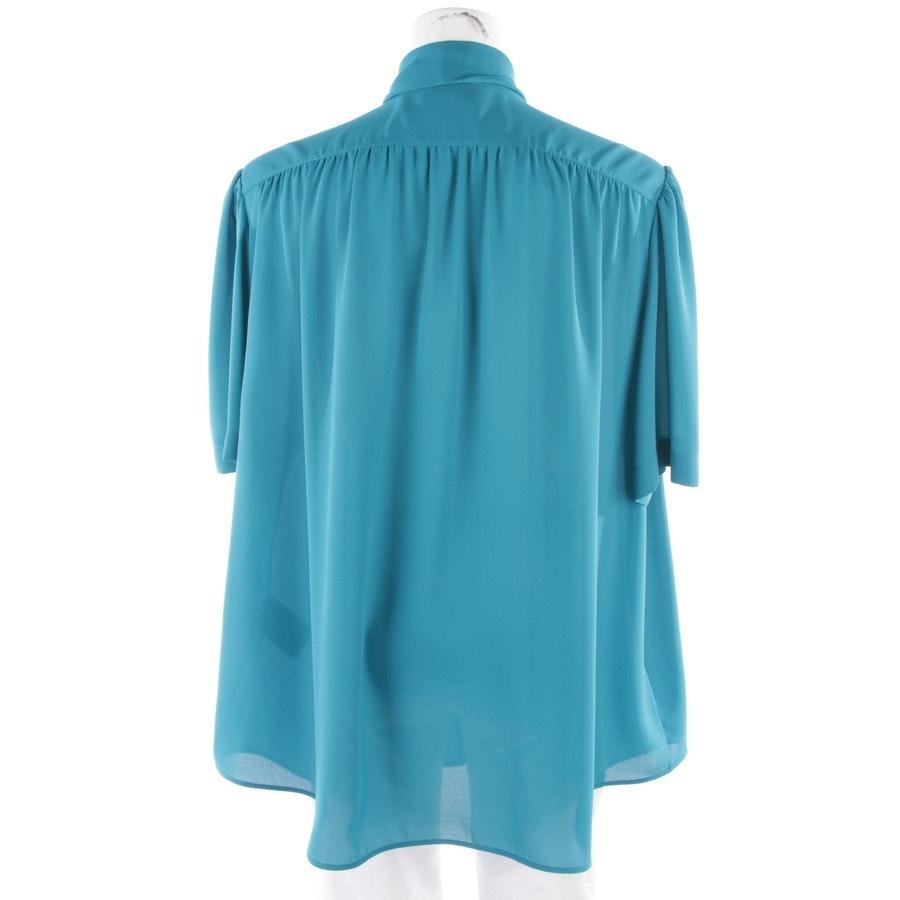 Bluse von Balenciaga in Cyanblau Gr. 34 FR 36