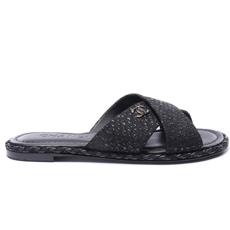 Sandalen von Chanel in Schwarz Gr. EUR 36