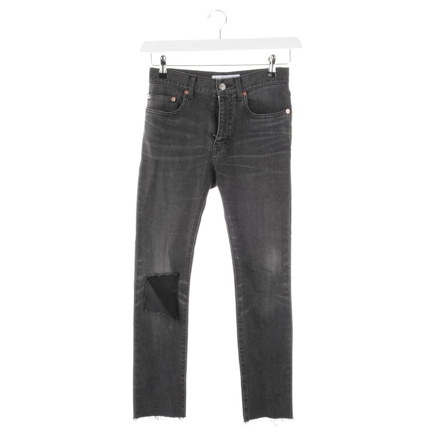 Jeans von Balenciaga in Dunkelgrau Gr. W24