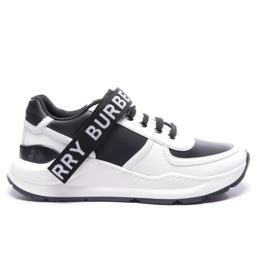 Sneaker von Burberry in Weiß und Schwarz Gr. EUR 40 - Neu