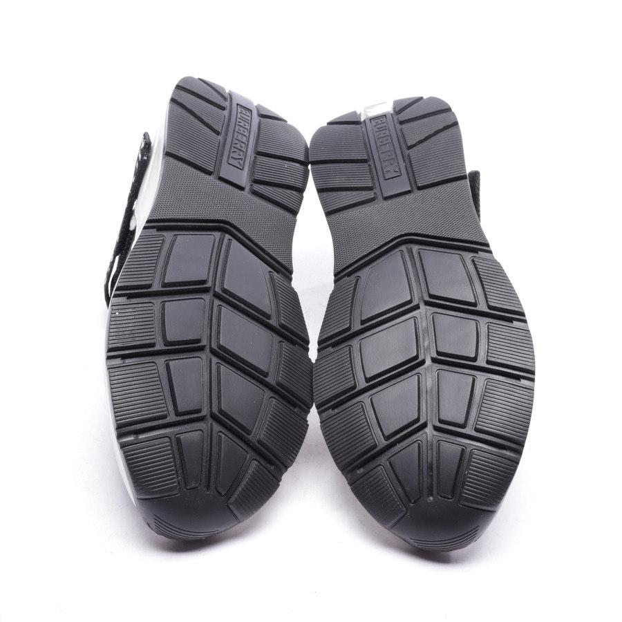 Sneaker von Burberry in Weiß und Schwarz Gr. EUR 41 - Neu