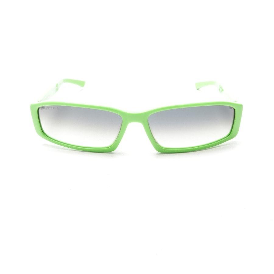 Sonnenbrille von Balenciaga in Neon Grün - BB0008S - Neu