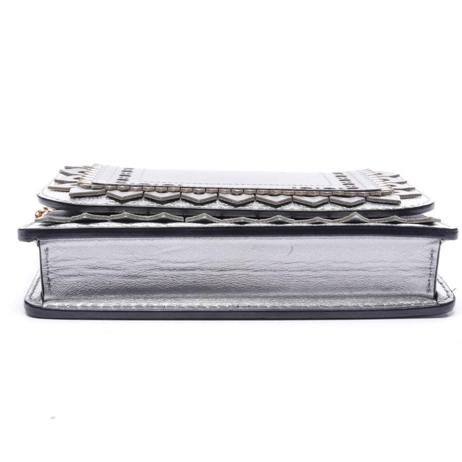 Abendtasche von Burberry in Silber