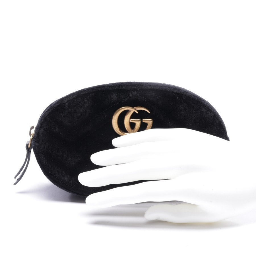 Gürteltasche von Gucci in Schwarz - Marmont Velvet