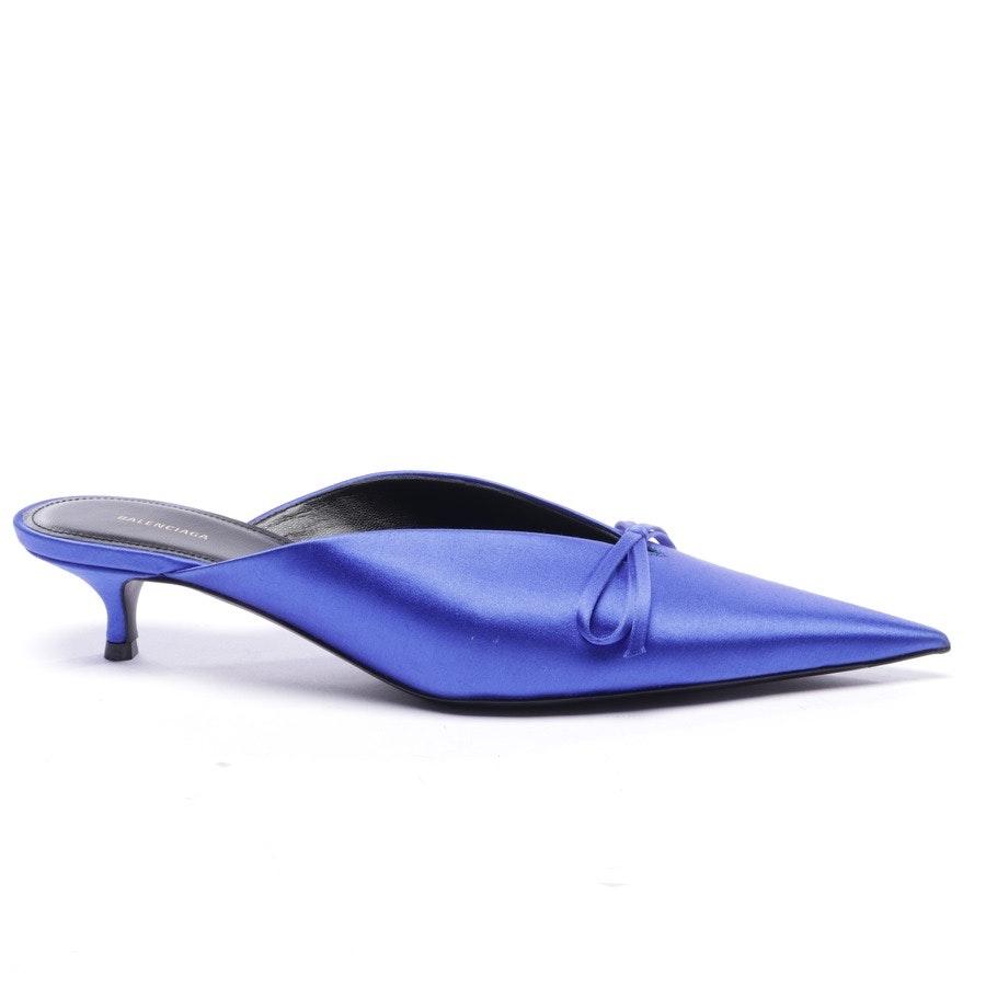 Mules von Balenciaga in Blau Gr. EUR 38 - Neu