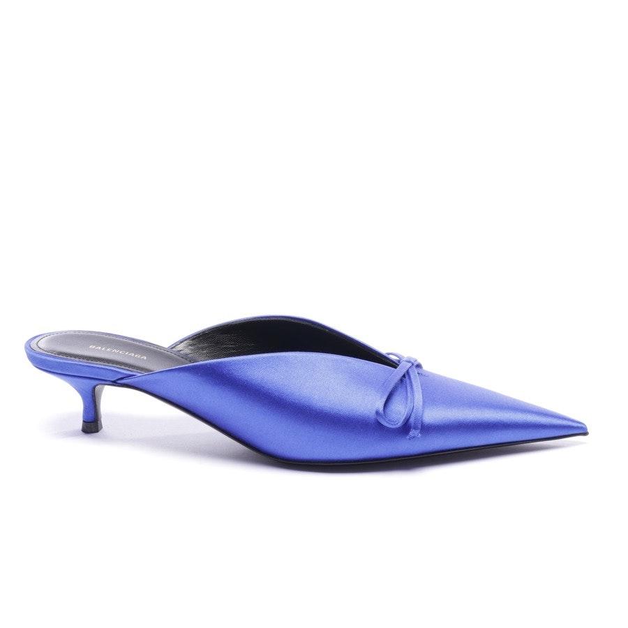 Mules von Balenciaga in Blau Gr. EUR 37 - Neu