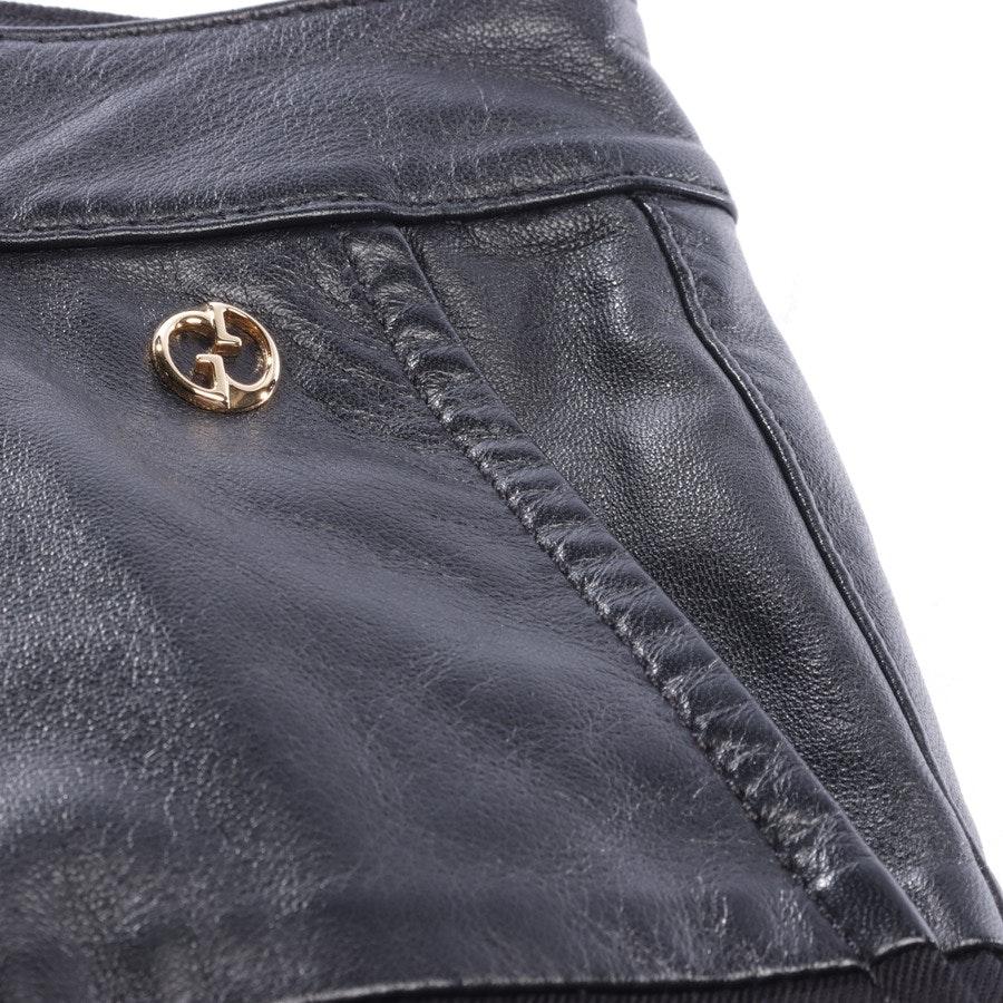 Hose von Gucci in Schwarz Gr. 32 IT 38