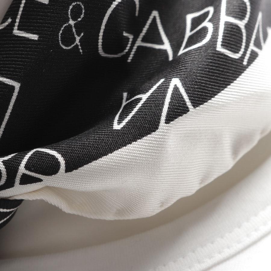 Seidentuch von Dolce & Gabbana in Schwarz und Weiß
