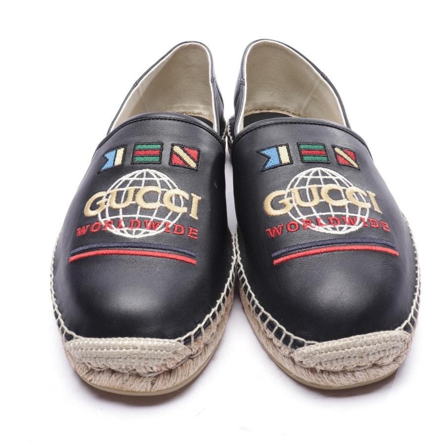 Espadrilles von Gucci in Schwarz Gr. EUR 44 UK 10 - Neu