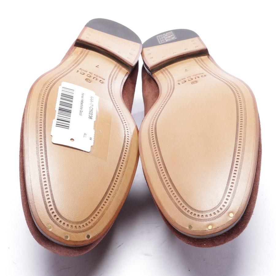 Halbschuhe von Gucci in Braun Gr. EUR 41 UK 7 - Neu