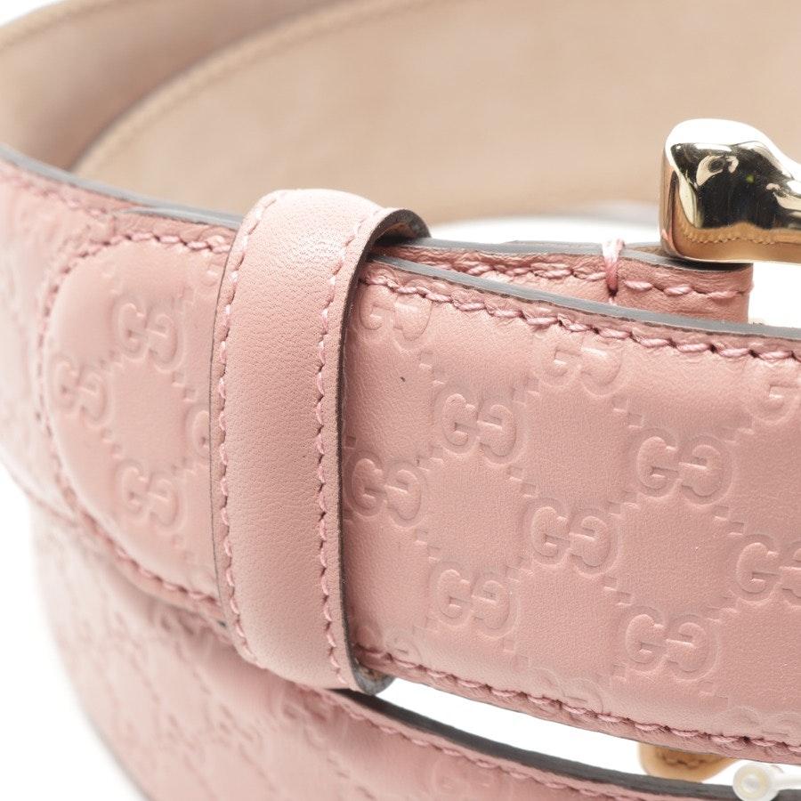 Gürtel von Gucci in Rosa Gr. 90 cm - Guccissima