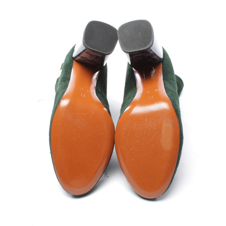 ankle boots from Carven in dark green size D 36 - new!