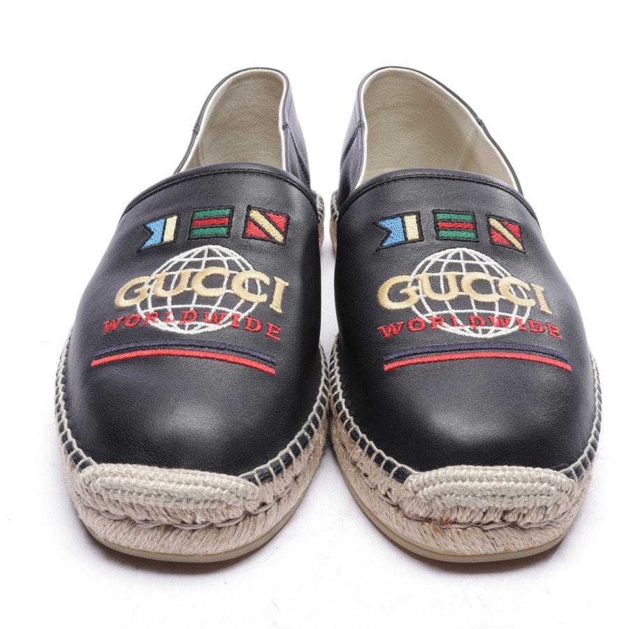 Espadrilles von Gucci in Schwarz Gr. EUR 44,5 UK 10,5 - Neu