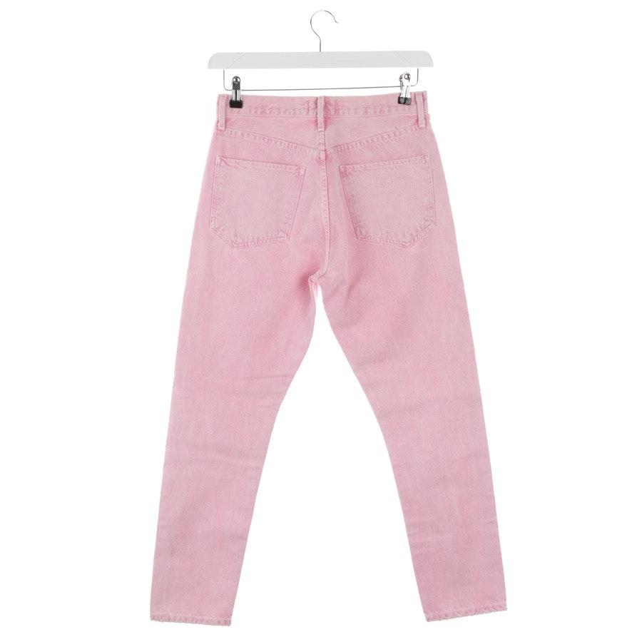 Jeans von Agolde in Pink und Grau Gr. W27 - Neu