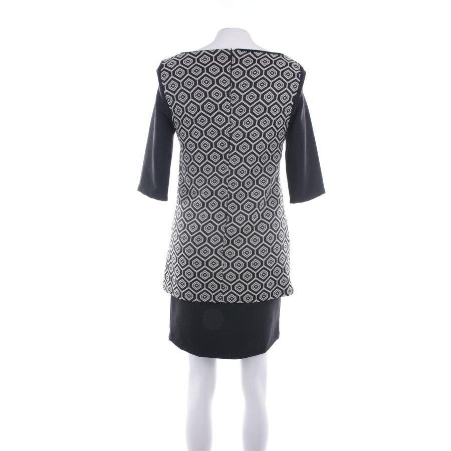 Kleid von Sandro Ferrone in Schwarz und Beige Gr. 38 IT 44