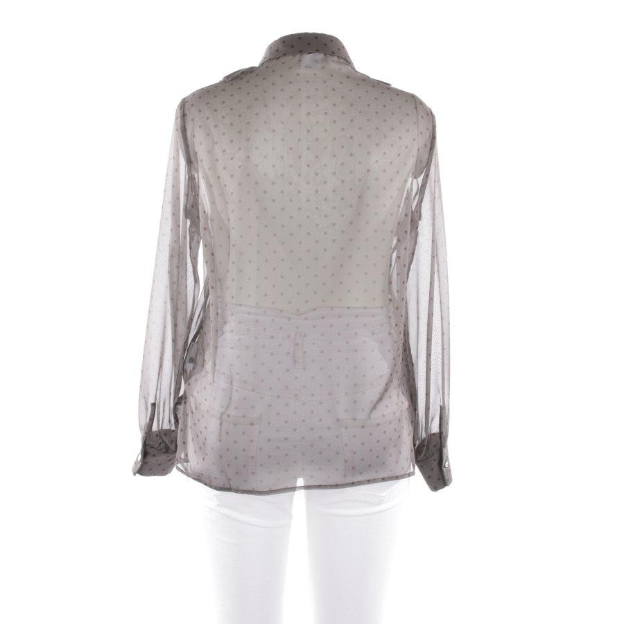 Bluse von P.A.R.O.S.H. in Grau und Braun Gr. L