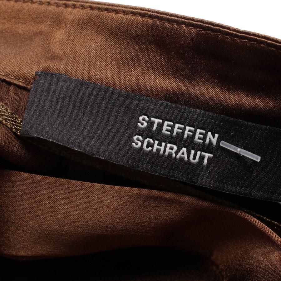 Bluse von Steffen Schraut in Braun Gr. 40