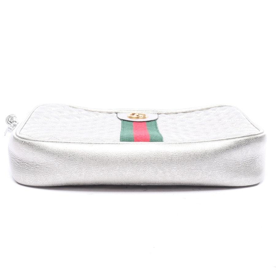 Crossbody Bag von Gucci in Silber und Mehrfarbig - Marmont