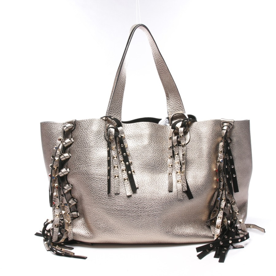 shopper from Valentino in gold - c rockee studded