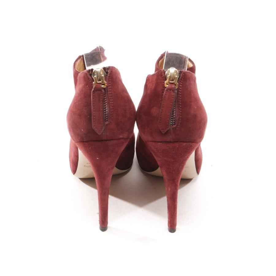 Ankle Boots von Valentino in Bordeaux Gr. D 37