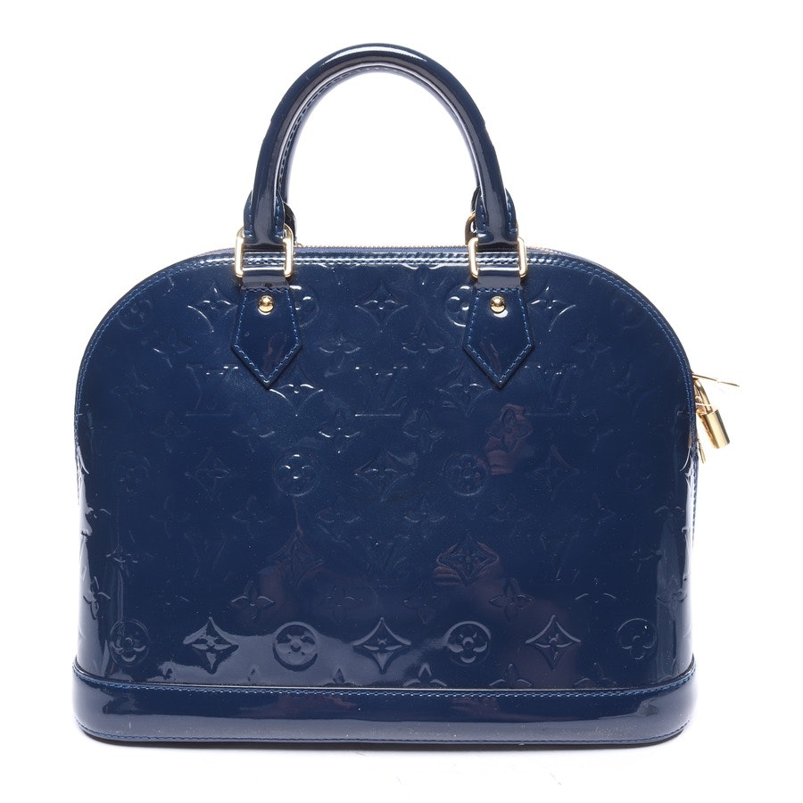 Handtasche von Louis Vuitton in Petrol - Alma PM