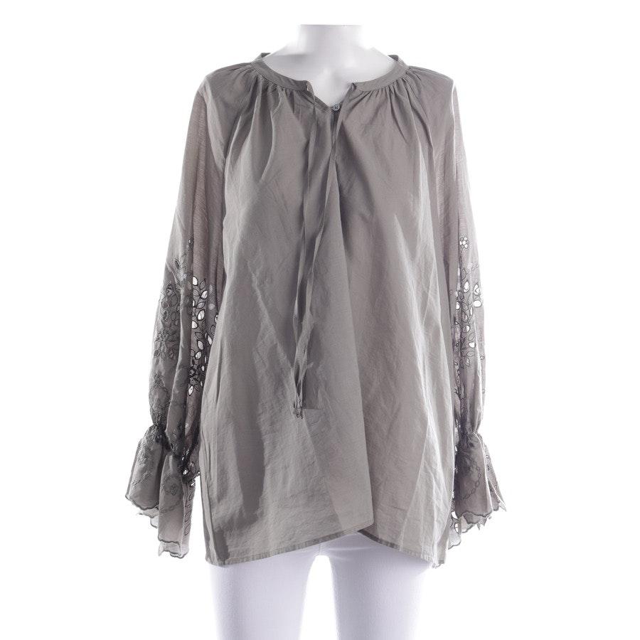 Bluse von Hana San in Olivgrün Gr. 40 FR 42