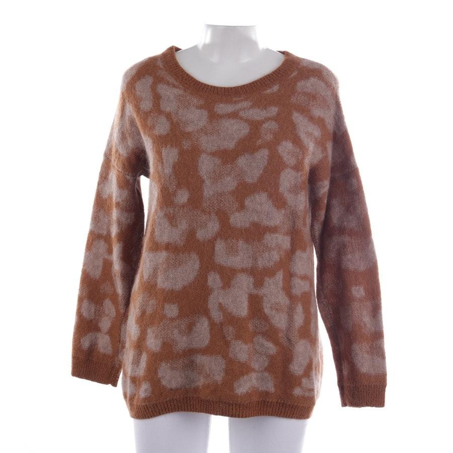 Pullover von Mrs & Hugs in Bronze und Beige Gr. 38
