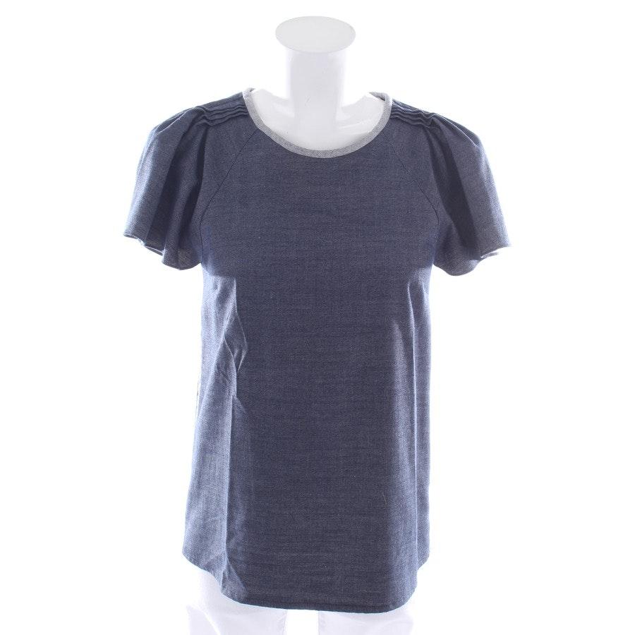 Shirt von Goat in Blau Gr. 34 UK 8