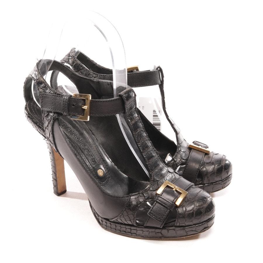 pumps from Gianmarco Lorenzi in black size D 36