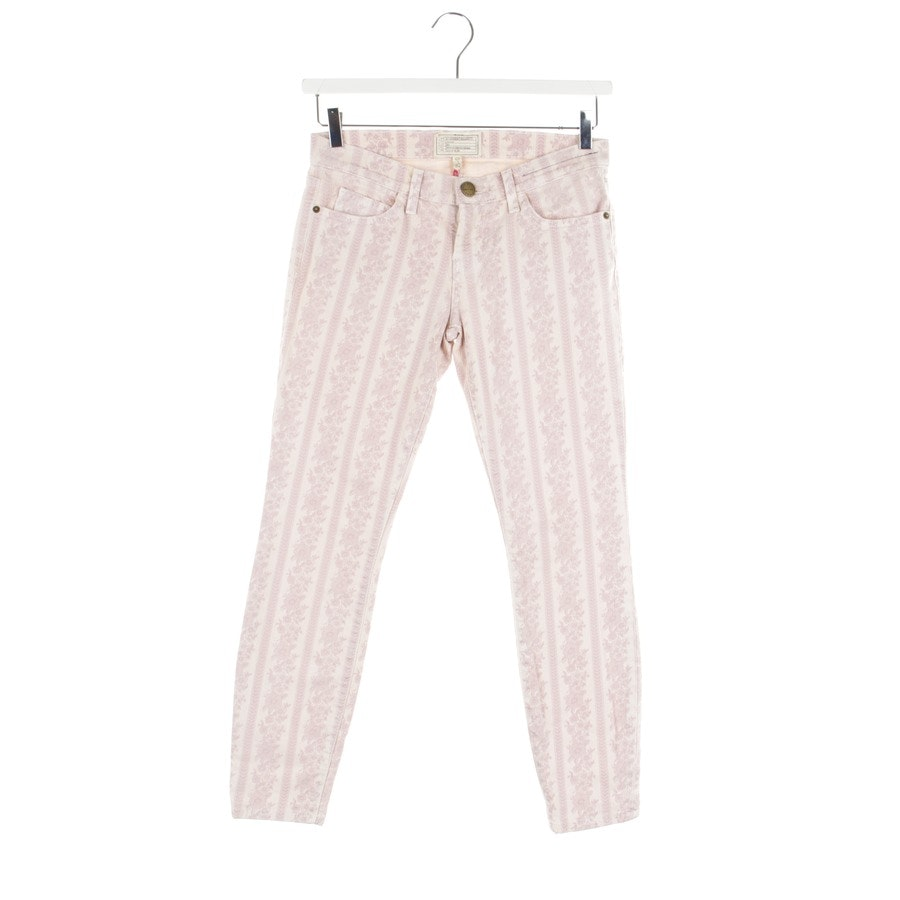 jeans from Current/Elliott in pale pink and beige size W28 - stiletto
