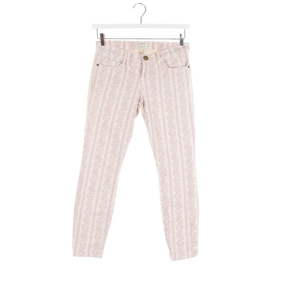Jeans von Current/Elliott in Zartrosa und Beige Gr. W27 - Stiletto