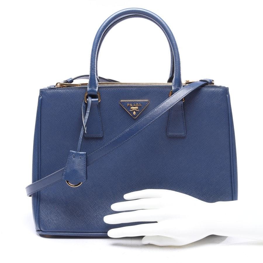 Handtasche von Prada in Blau