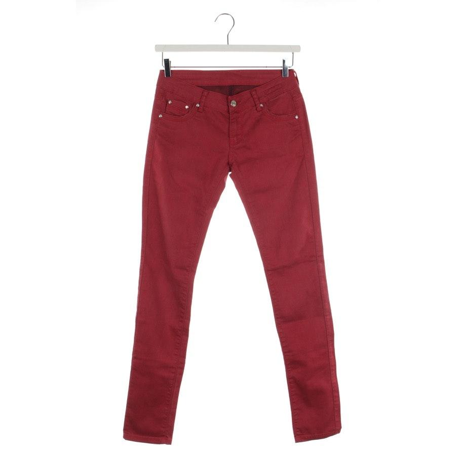 Jeans von Dsquared in Himbeerrot Gr. W31