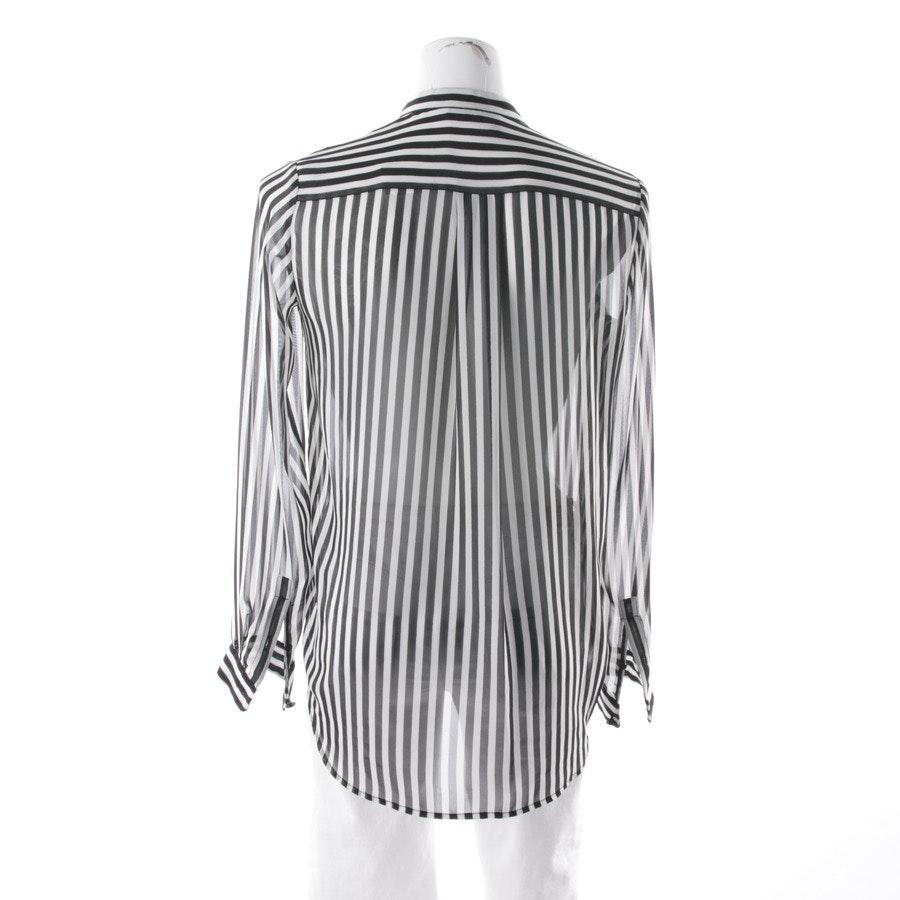 Bluse von The Kooples in Weiß und Schwarz Gr. XS