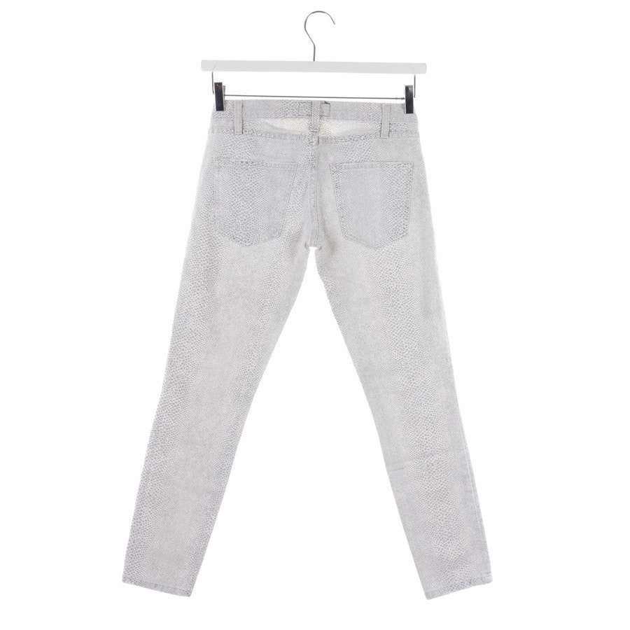 jeans from Current/Elliott in white and black size W25 - the crop skinny