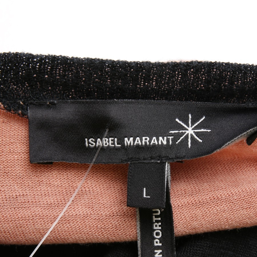 dress from Isabel Marant in salmon-pink and black size L