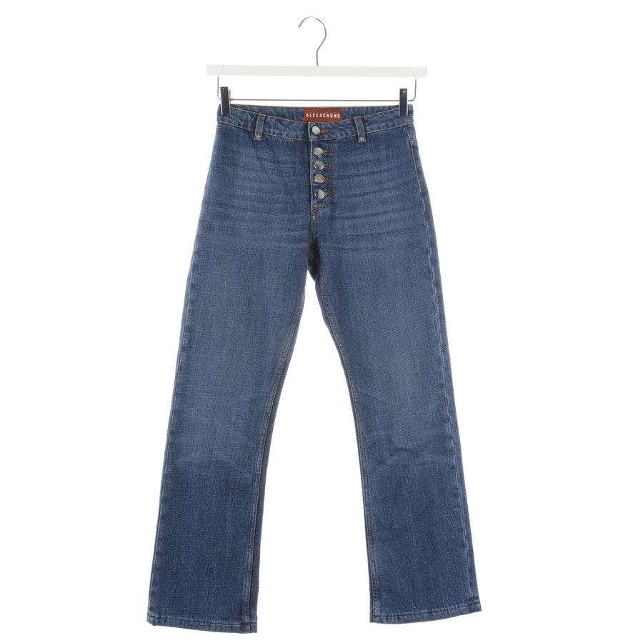 Jeans von Alexa Chung in Blau Gr. W25