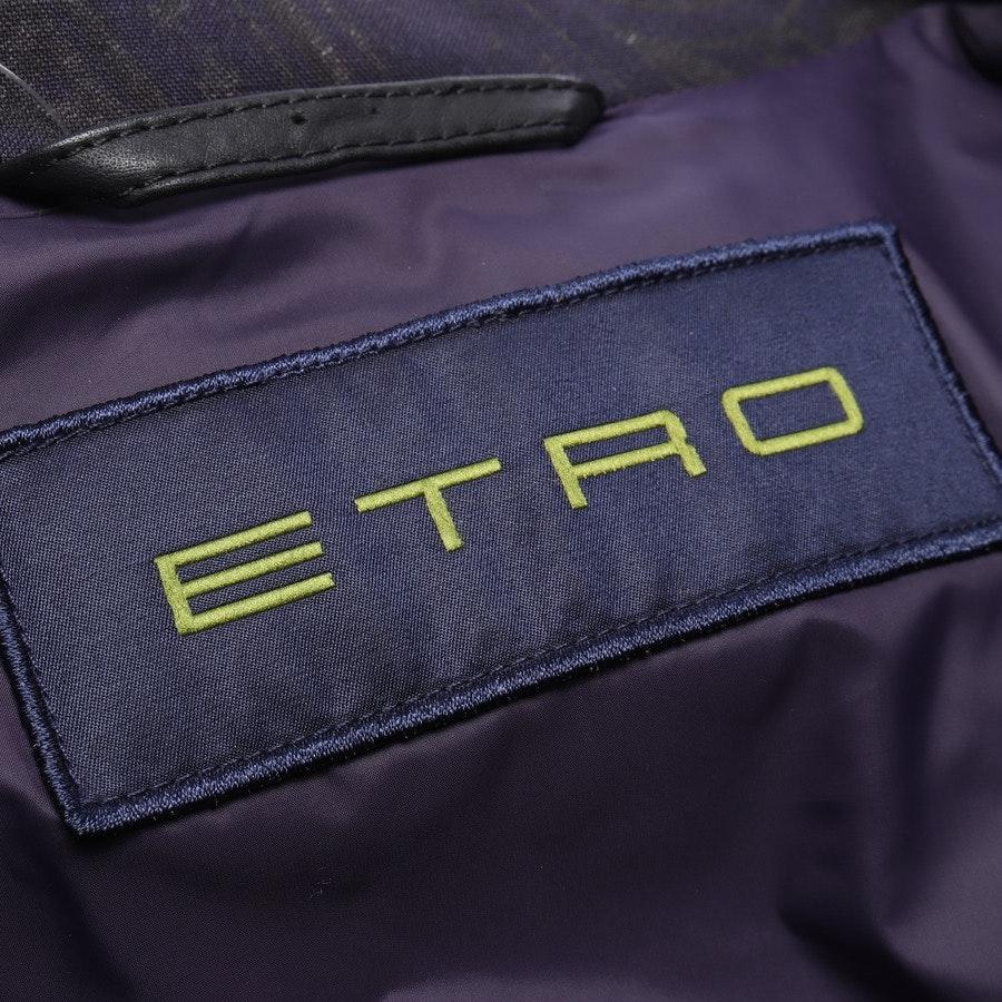 Wolljacke von Etro in Dunkelblau und Grün Gr. XL