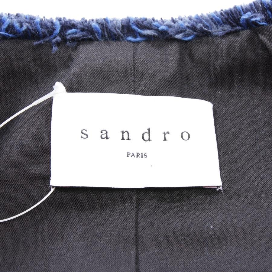 Übergangsjacke von Sandro in Blau Gr. DE 34 FR 36 - NEU mit Etikett
