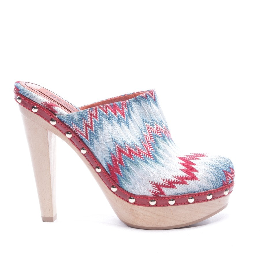 heeled sandals from Missoni in multicolor size D 36 - new!