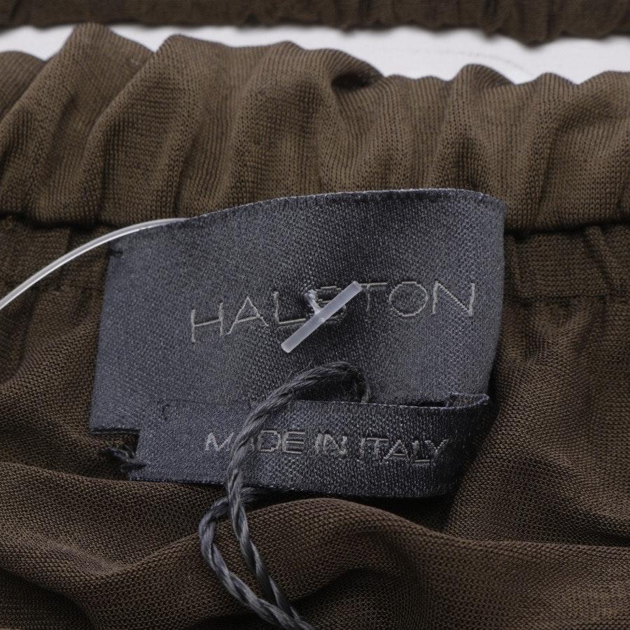 Kleid von Halston Heritage in Olivgrün Gr. 36 IT 42