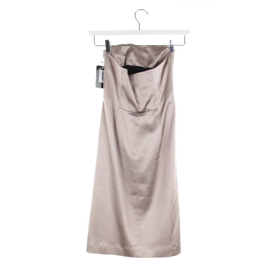 Kleid von Alberta Ferretti in Taupe Gr. 34 - Neu
