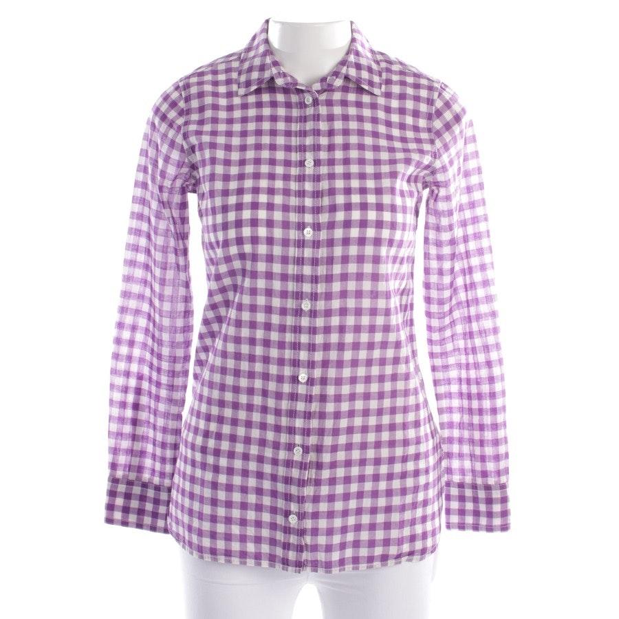 Bluse von J.CREW in Lila und Weiß Gr. DE 30 US 0 - Boy