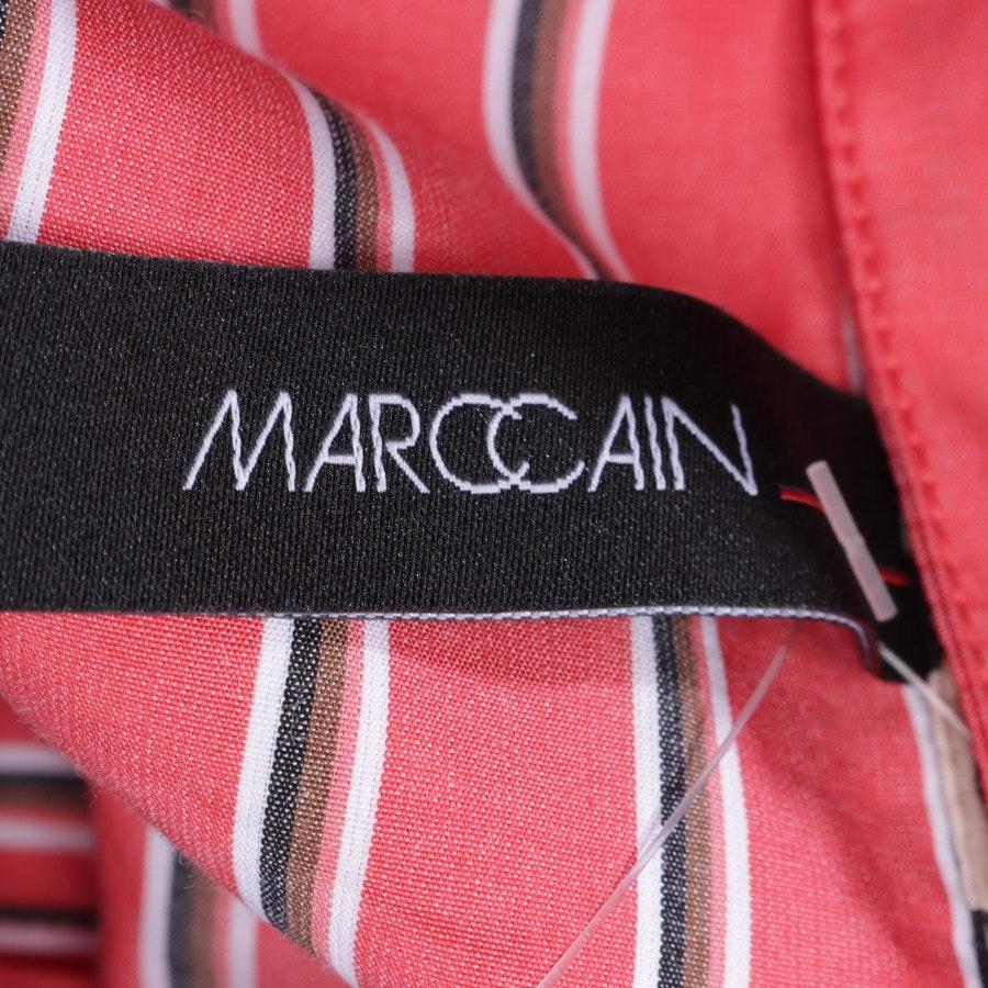 Bluse von Marc Cain in Rot und Mehrfarbig Gr. 42 N5