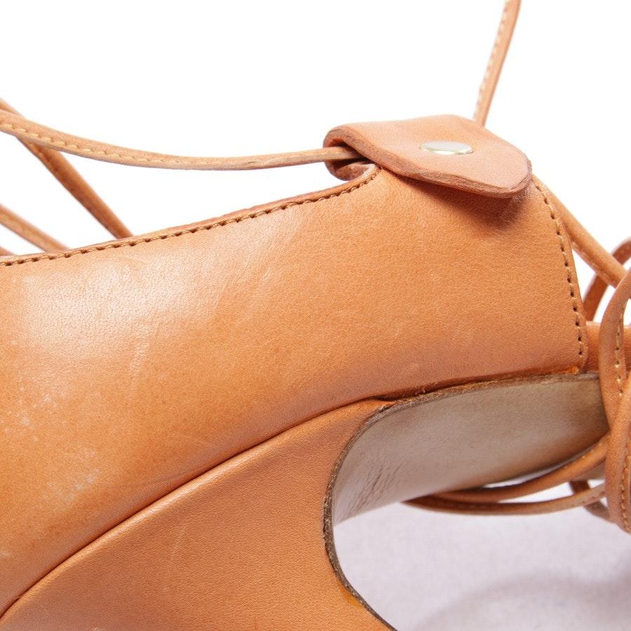 Sandaletten von Isabel Marant in Orange Gr. D 38