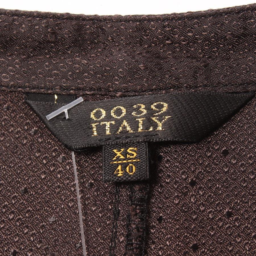 Kleid von 0039 Italy in Dunkelbraun Gr. XS